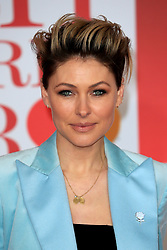 attends the Brit Awards at the O2 Arena in London, UK. 21 Feb 2018 Pictured: Emma Willis. Photo credit: MEGA TheMegaAgency.com +1 888 505 6342