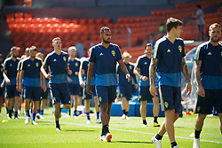 June 26, 2018 - Ekaterinburg, RUSSIA - 180626 Isaac Kiese Thelin of the Swedish national football team at a practice session during the FIFA World Cup on June 26, 2018 in Ekaterinburg..Photo: Joel Marklund / BILDBYRN / kod JM / 87732 (Credit Image: © Joel Marklund/Bildbyran via ZUMA Press)