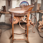One of the many pieced of equipement used to mine gold in the old west.