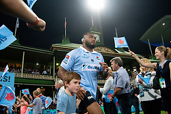 March 9, 2019 - Sydney, NSW, U.S. - SYDNEY, NSW - MARCH 09: Waratahs player Sekope Kepu (3) runs on to the field at round 4 of Super Rugby between NSW Waratahs and Queensland Reds on March 09, 2019 at The Sydney Cricket Ground, NSW. (Photo by Speed Media/Icon Sportswire) (Credit Image: © Speed Media/Icon SMI via ZUMA Press)
