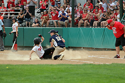 29 May 2017:  #3 Ottawa Marquette Crusaders v Heyworth Hornets at IWU in Bloomington Illinois for the IHSA Class 1A Softball Sectional Championship.