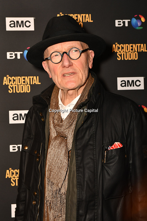 Ray Cooper Arrivers at Premiere of documentary about the British film production company, Handmade Films, created by George Harrison of the Beatles on 27 March 2019, London, UK.