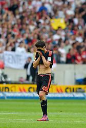 Football: Germany, 1. Bundesliga, VFB STUTTGART - HAMBURGER SV (HSV), Stuttgart - 16.05.2015,<br /> Gojko Kacar (Hamburg) dejected<br /> <br /> © pixathlon<br /> <br /> +++ NED out !!! +++