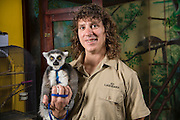 Animal Adventures portrait with Lemur
