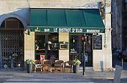 A cafe. Bistrot d'eloi. Bordeaux city, Aquitaine, Gironde, France