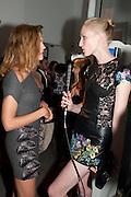NATALIA VODIANOVA; JADE PARFITT Vogue: Fashion's Night Out: Stella McCartney. Stella McCartney, 30 Bruton Street, London. 8 September 2010.  -DO NOT ARCHIVE-© Copyright Photograph by Dafydd Jones. 248 Clapham Rd. London SW9 0PZ. Tel 0207 820 0771. www.dafjones.com.