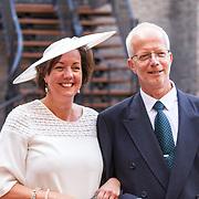 NLD/Den Haag/20180918 - Prinsjesdag 2018, Tamara van Ark en partner