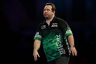 Brendan Dolan looking dejected during the World Darts Championships 2018 at Alexandra Palace, London, United Kingdom on 29 December 2018.