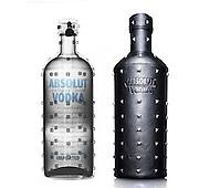 Absolut Vodka under x-ray