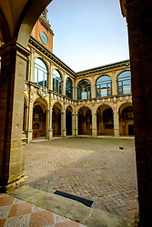 Biblioteca comunale dell'Archiginnasio, Bologna, Italy<br /> <br /> (c) Andrew Wilson   Edinburgh Elite media