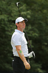 August 9, 2018 - St. Louis, Missouri, United States - Rory McIlroy tees off during the first round of the 100th PGA Championship at Bellerive Country Club. (Credit Image: © Debby Wong via ZUMA Wire)
