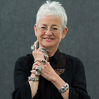 EDINBURGH, SCOTLAND - AUGUST11. Writer Jacqueline Wilson poses during a portrait session held at Edinburgh Book Festival on August 11, 2007  in Edinburgh, Scotland. HOW TO BUY THIS PICTURE: please contact us via e-mail at sales@xianpix.com or call our offices in Milan at (+39) 02 400 47313 or London   +44 (0)207 1939846 for prices and terms of copyright.