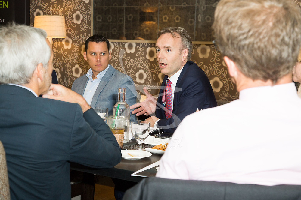 CPG Penningtons Manches Roundtable event at Haymarket Hotel. London, May 10 2018.