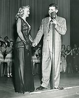 1949 Ken Murray & Marie Wilson