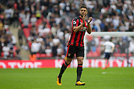 Andrew Surman of AFC Bournemouth applauds the fans. <br /> Premier league match, Tottenham Hotspur v AFC Bournemouth at Wembley Stadium in London on Saturday 14th October 2017.<br /> pic by Kieran Clarke, Andrew Orchard sports photography.