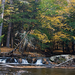 The Pleasant River in Windham, Maine.  Clark Farm.