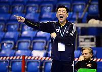 Håndball , 29. november 2013 , Møbelringen Cup kvinner<br /> Russland - Sør-Korea<br /> Young Chul Lim , trener Sør-Korea<br /> Handball , Women<br /> Russi - Korea