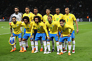 Team Brazil during the International Friendly Game football match between Germany and Brazil on march 27, 2018 at Olympic stadium in Berlin, Germany - Photo Laurent Lairys / ProSportsImages / DPPI