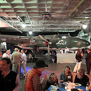 Medical University of South Carolina alumni gather on the USS Yorktown in Charleston for a reunion. ©Travis Bell Photography
