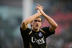 08-11-2009 VOETBAL: FC UTRECHT - HEERENVEEN: UTRECHT<br /> Utrecht verliest met 3-2 van Heerenveen / Goran Popov<br /> ©2009-WWW.FOTOHOOGENDOORN.NL