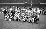 All Ireland Minor Football Final Kerry v. Westmeath, Croke Park..Kerry Minor Football Team.22.09.1963