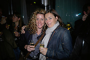 MARIA MARSHALL AND VERONIQUE VEEKAMP, private view  of new exhibition by Tim Stoner , Alison Jacques Gallery in new premises in Berners St., London, W1 ,Afterwards across the rd. at the Sanderson Hotel. 3 May 2007. DO NOT ARCHIVE-© Copyright Photograph by Dafydd Jones. 248 Clapham Rd. London SW9 0PZ. Tel 0207 820 0771. www.dafjones.com.