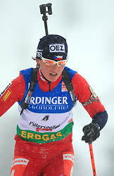 Veronika Vitkova (CZE) at Women 15 km Individual at E.ON Ruhrgas IBU World Cup Biathlon in Hochfilzen (replacement Pokljuka), on December 18, 2008, in Hochfilzen, Austria. (Photo by Vid Ponikvar / Sportida)