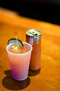 The Red Bull drink special, The Head Rusch, at the screening of Blood Road at the Bluebird Theater in Denver, CO, USA on 27 June, 2017.