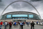 Wembley Stadium before the Sky Bet League 1 Play Off Final match between Preston North End and Swindon Town at Wembley Stadium, London, England on 24 May 2015. Photo by Shane Healey.