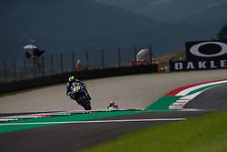 June 1, 2018 - Mugello, FI, Italy - Valentino Rossi of Movistar Yamaha MotoGP during the Free Practice 1 of the Oakley Grand Prix of Italy, at International  Circuit of Mugello, on June 01, 2018 in Mugello, Italy  (Credit Image: © Danilo Di Giovanni/NurPhoto via ZUMA Press)