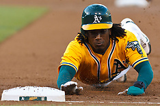 20110815 - Baltimore Orioles at Oakland Athletics (MLB Baseball)