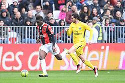 March 18, 2018 - Nice, France - 09 MARIO BALOTELLI (NICE) - 25 ADRIEN RABIOT  (Credit Image: © Panoramic via ZUMA Press)