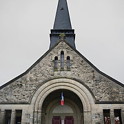 The Chapel of Remembrance (Chapelle des Souvenirs ) in Rancourt, Picardy build by the dy Bos family as a commemoration to their son and his comrades who were killed there in September 1916. The National Cemetery of Rancourt is the largest French cemetery in Somme with 8566 graves.