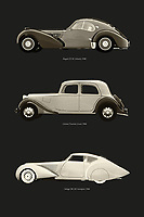 Europe has produced many revolutionary car models. Both in terms of technology and design. Who does not know these most precious old-timers in the world? The Bugatti, Citroen Traction and Delage. –<br /> -<br /> BUY THIS PRINT AT<br /> <br /> FINE ART AMERICA / PIXELS<br /> ENGLISH<br /> https://janke.pixels.com/featured/revolutinary-european-car-designs-jan-keteleer.html<br /> <br /> <br /> WADM / OH MY PRINTS<br /> DUTCH / FRENCH / GERMAN<br /> https://www.werkaandemuur.nl/nl/shopwerk/Revolutinaire-Europese-auto-ontwerpen/797718/132?mediumId=1&size=50x75<br /> –<br /> -