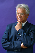 Acclaimed Palestinian poet Mourid Barghouti, pictured at the Edinburgh International Book Festival, where he talked about his 30 years in exile and return to his homeland in 'I Saw Ramallah'. The book festival was a part of the Edinburgh International Festival, the largest annual arts festival in the world.