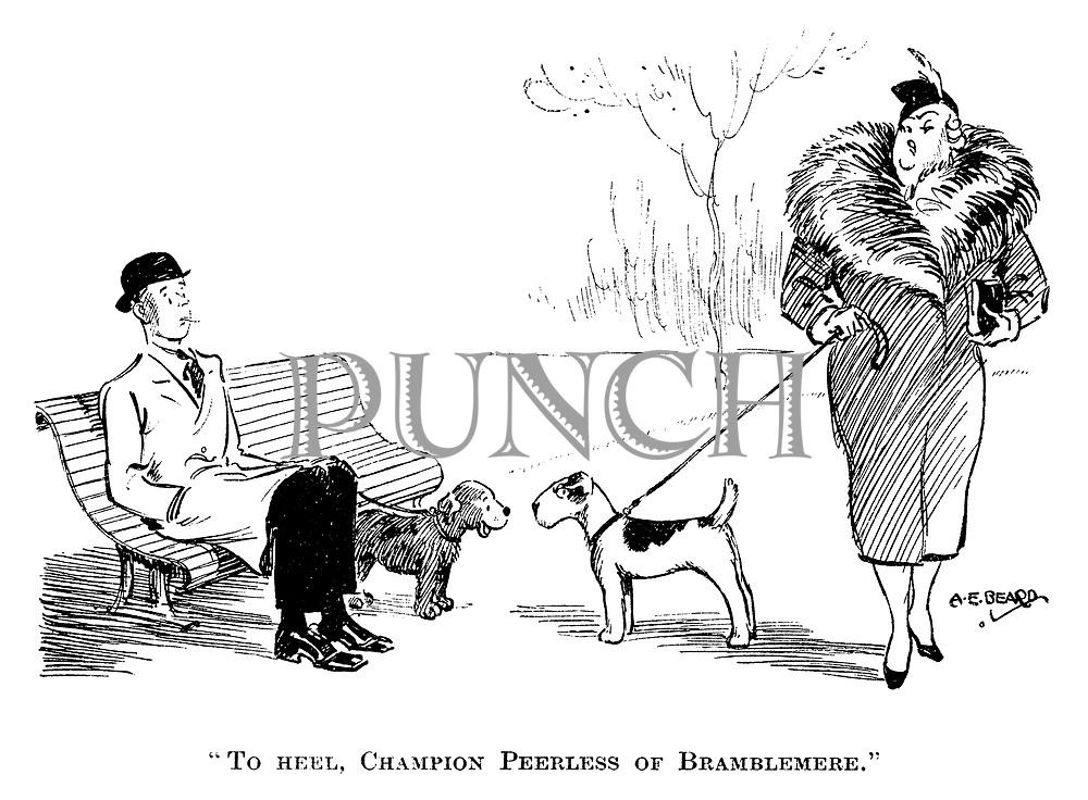 """""""To heel, champion Peerless of Bramblemere."""""""