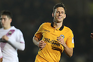 Mark Randall of Newport county looks on. EFL Skybet football league two match, Newport county v Barnet at Rodney Parade in Newport, South Wales on Tuesday 25th October 2016.<br /> pic by Andrew Orchard, Andrew Orchard sports photography.