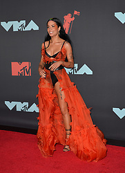 August 26, 2019, New York, New York, United States: Halsey arriving at the 2019 MTV Video Music Awards at the Prudential Center on August 26, 2019 in Newark, New Jersey  (Credit Image: © Kristin Callahan/Ace Pictures via ZUMA Press)