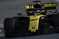 March 1, 2019 - Barcelona, Catalonia, Spain - March 1st, 2019 - Circuit de Barcelona-Catalunya, Montmelo, Spain - Formula One preseason 2019; Nico Hulkenberg of Renault F1 Team during the afternoon session of the day 8. (Credit Image: © Marc Dominguez/ZUMA Wire)