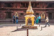 Patan, Nepal (Lalitpur Sub-Metropolitan City) Durbar Square.