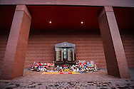 The Hilssborough memorial at Anfield during the Premier League match at Anfield Stadium, Liverpool. Picture date December 27th, 2016 Pic David Klein/Sportimage