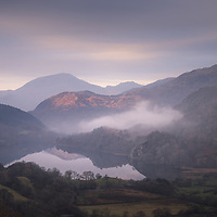 A quick dash to a raodside view over Llyn Gwynant when an unexpected decent sunrise materialsed in Snowdonia last week.