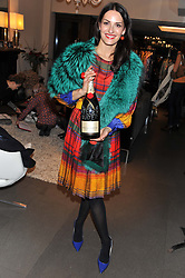 CARMEN HAID at a Atelier-Mayer Private Shopping Evening held at 18 Horbury Crescent, London W11 on 20th November 2012.