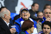 Reading fans during the Sky Bet Championship match between Reading and Bristol City at the Madejski Stadium, Reading, England on 2 January 2016. Photo by Jemma Phillips.