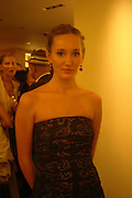 Ruby Stewart. Christopher Bailey hosts a party to celebrate the launch of ' The Snippy World of New Yorker Fashion Artist Michael Roberts' Burberry, New Bond St.  London. 19  September 2005. ONE TIME USE ONLY - DO NOT ARCHIVE © Copyright Photograph by Dafydd Jones 66 Stockwell Park Rd. London SW9 0DA Tel 020 7733 0108 www.dafjones.com