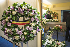 Belgium: Funeral for Minister of State Jacky Morael, Tuesday 13 Dec 2016