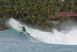 Aug 25, 2018 - Lagundri Bay, Indonesia - Kian Martin during Nias Pro in Lagundri Bay, Indonesia. (Credit Image: ? WSL/ZUMA Wire/ZUMAPRESS.com)