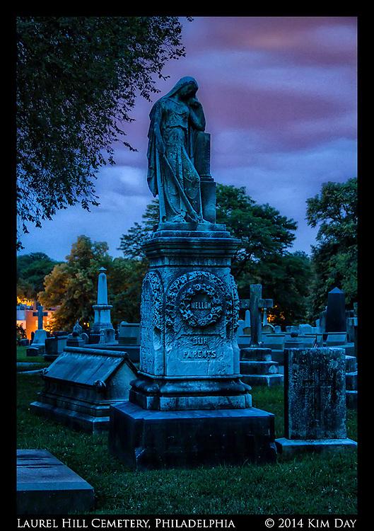 Twilight At Laurel Hill<br /> Philadelphia, PA<br /> July 2014