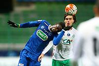 Babacar Gueye (Troyes) vs Kristian Selnaes Ole (Saint Etienne)