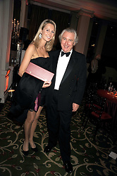 LUCY NAGLE and her father DAVID NAGLE at the annual Cartier Racing Awards held at the Grosvenor House Hotel, Park Lane, London on 17th November 2008.